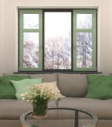 Ламинированные окна (Цветные окна)